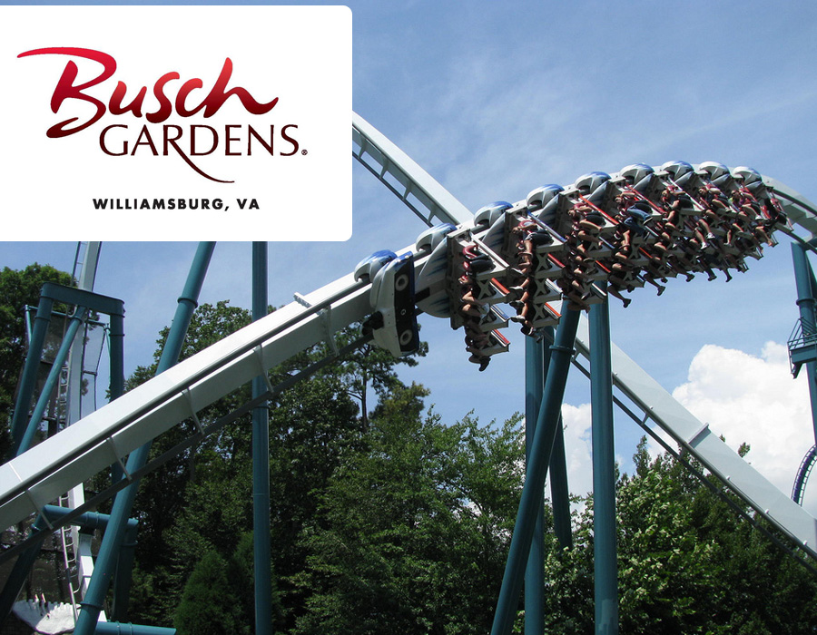 Busch Gardens Williamsburg Virginia Beach Vacation Guide