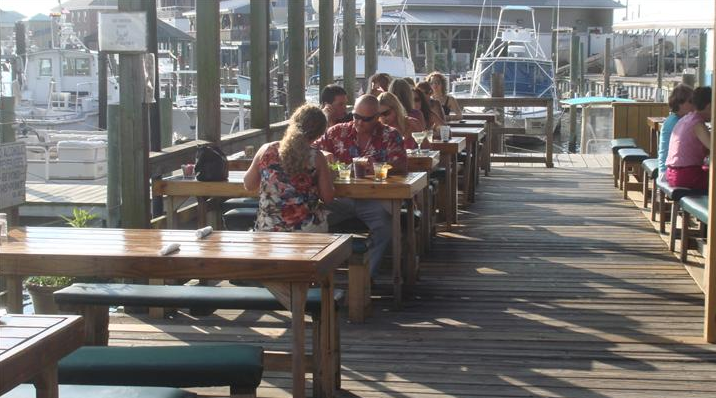 Dockside restaurant and marina virginia beach vacation guide for Fish market virginia beach