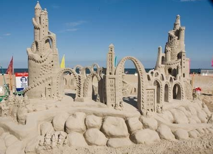 Virginia Beach Sandcastle Competition Virginia Beach Vacation Guide - The 10 coolest sandcastle competitions in the world