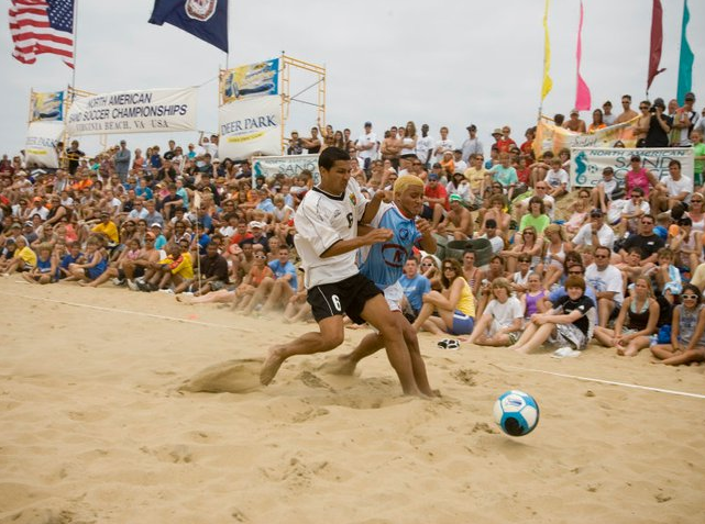 North American Sand Soccer Tournament Virginia Beach Oceanfront
