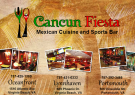 Cancun Fiesta Mexican Cuisine and Sports Bar