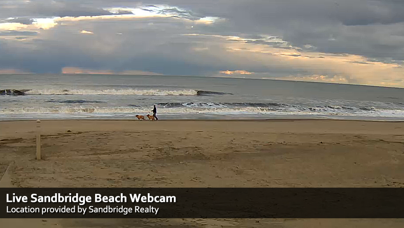 Sandbridge Beach Webcam  Virginia Beach Vacation Guide