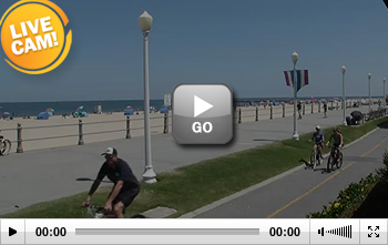 Virginia Beach Boardwalk and Surf Webcam